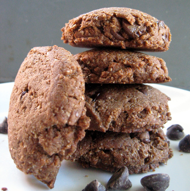 Chocolate Chocolate Chip Cookies