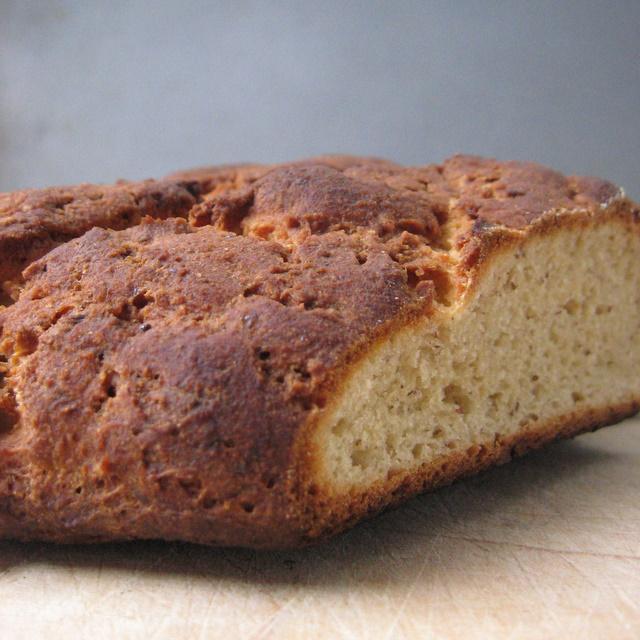 Whoa - flat bread.