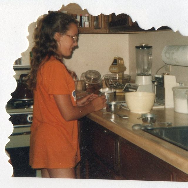 A Young Me, Baking