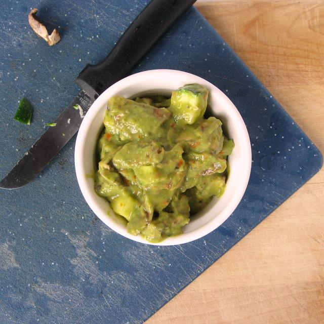 Ugly But Delicious - Pesto Guac Salad