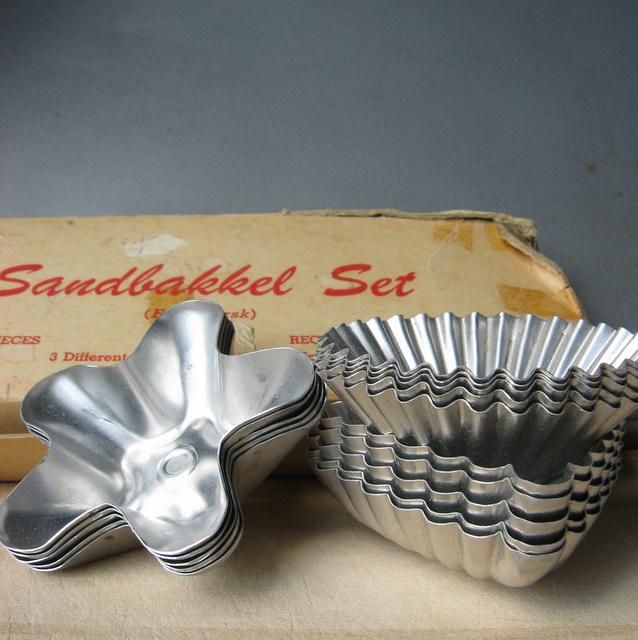 Scandinavian Sandbakkel Tins