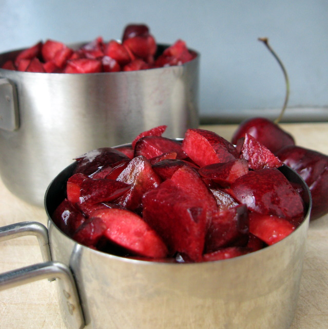 Chopped Sweet Cherries