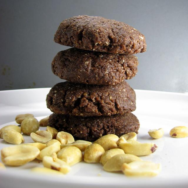 Choco Nut Drops - No Peanut Flour Needed