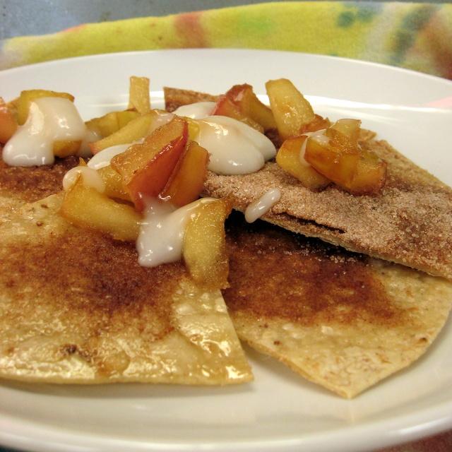 Vegan, Gluten-Free Fruit Nachos for Breakfast