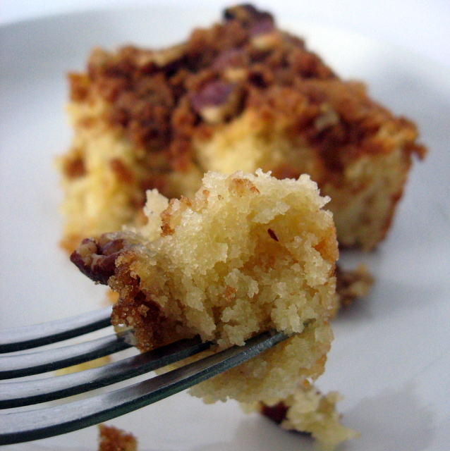 Sugar Crunch Coffee Cake (grain-free)