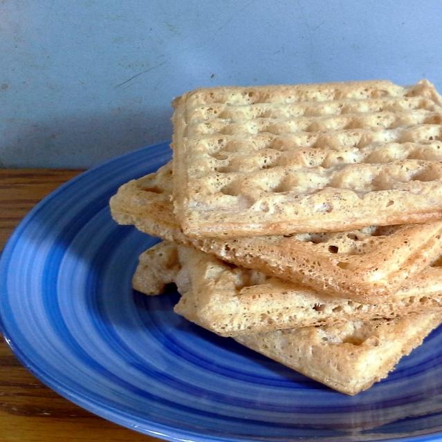 Crispy, Crunchy, Never-Fail Waffles